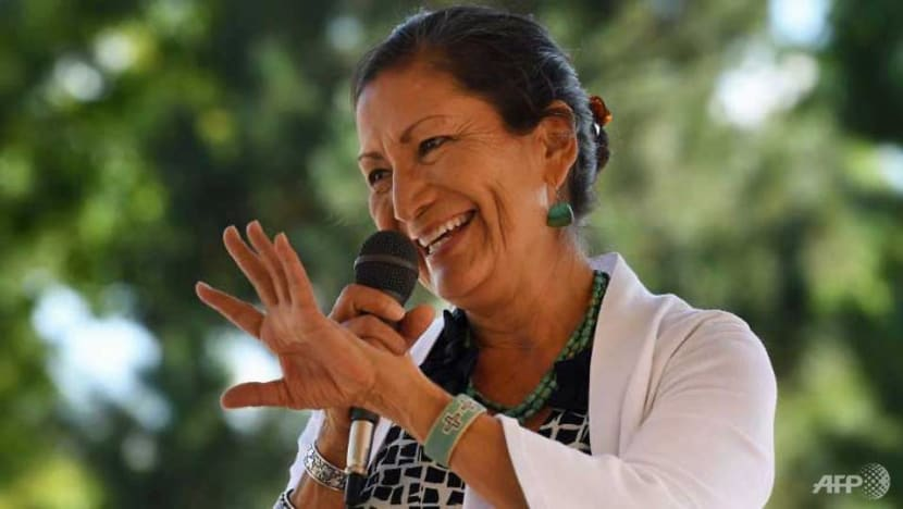 Newly elected Native American vows climate change fight