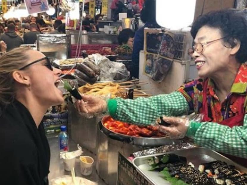 Starting a Singapore food battle with an Avengers: Endgame star in Seoul