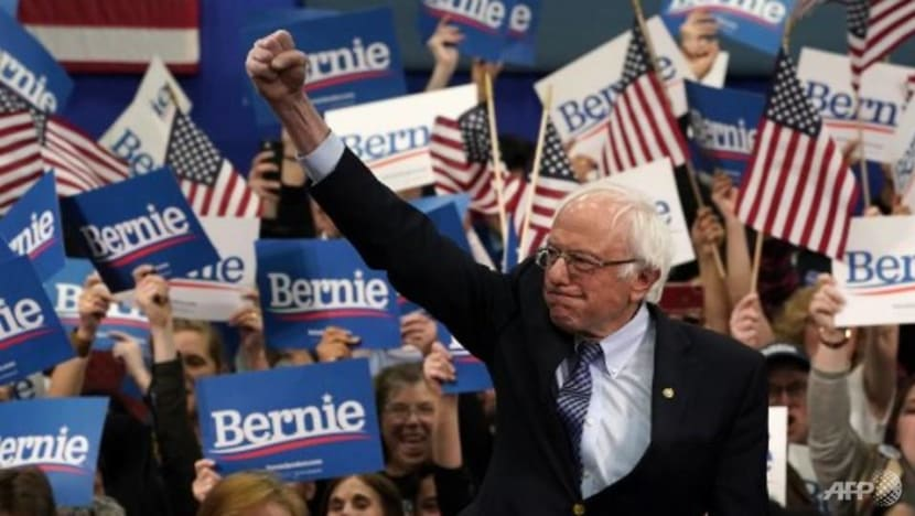 Sanders leads in New Hampshire as Biden crashes and burns