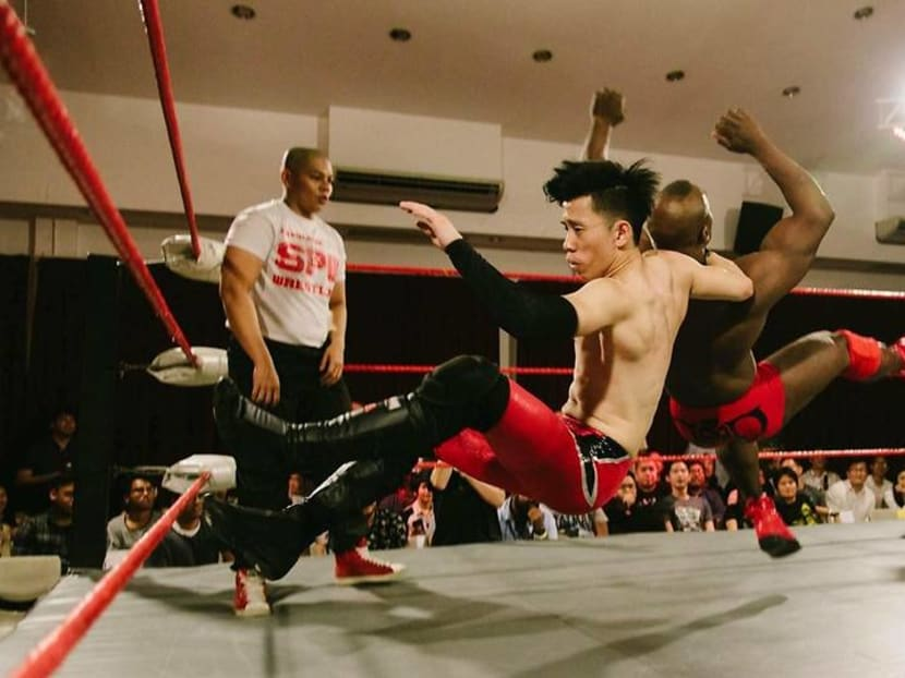 Inside the ring with Singapore's pro wrestlers