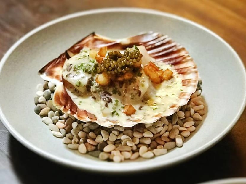 Best Thing We Ate This Week: Hokkaido scallop with miso butter sauce at Maggie Joan's