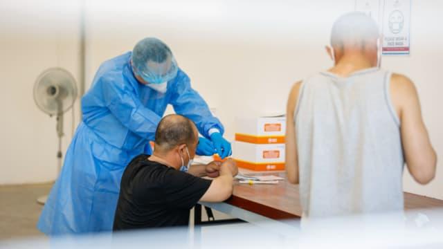 胜科海事:住在惹兰都康宿舍的1400名职员皆已接种疫苗
