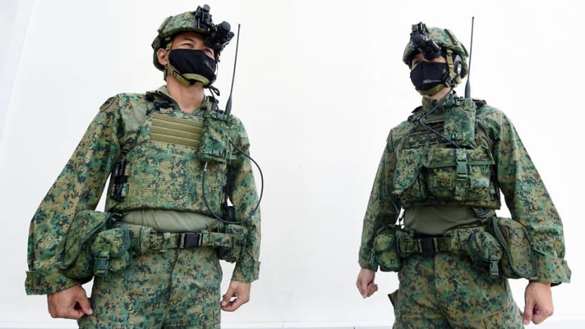 SAF NSFs get new load bearing vest that improves heat dissipation, gives better support