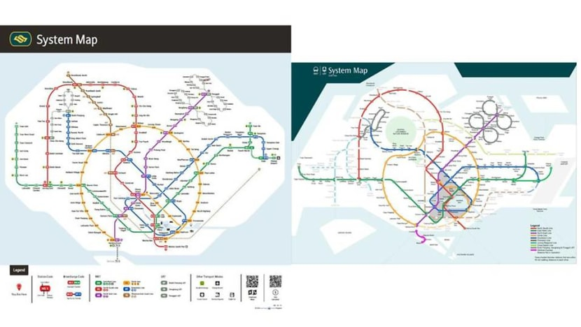 LTA's version 'clearer than before', but has room for improvement, says architect who redesigned MRT map