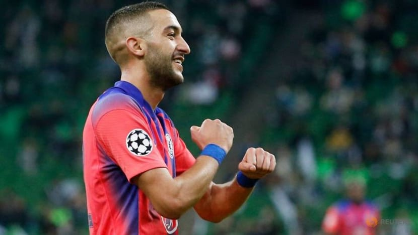 Chelsea's Ziyech out of Arsenal clash, Chilwell, James doubtful