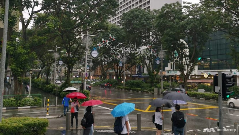 Wet start to New Year continues as mercury falls to cool 21.1°C in Singapore