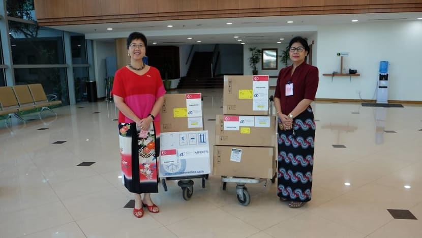 Singapore sends COVID-19 diagnostic tests, machines to Myanmar