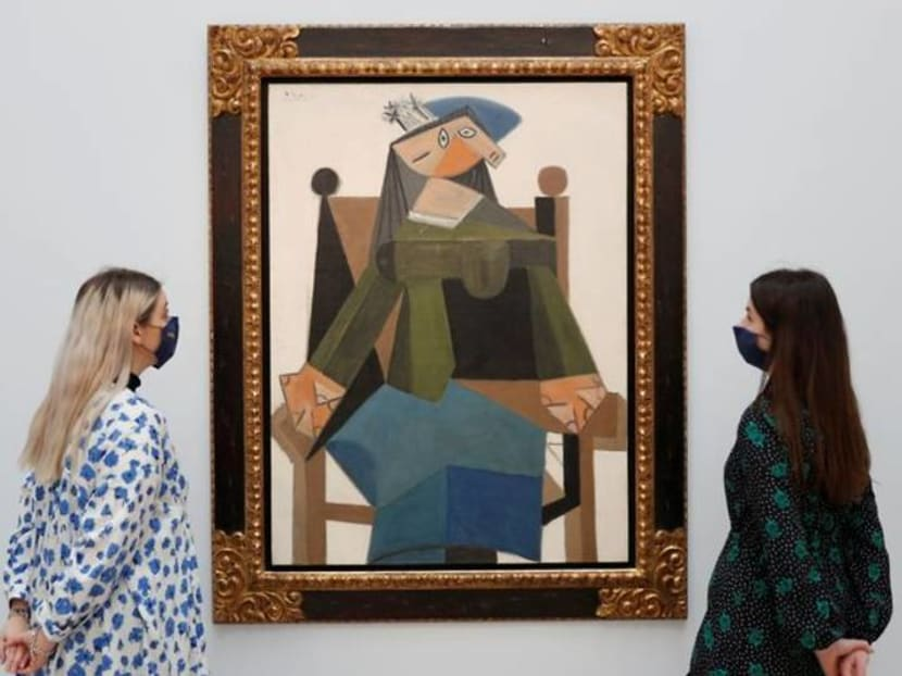 Munch portrait, Picasso silverware and Banksy canvas up for auction