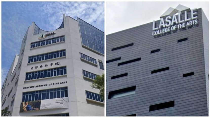 Singapore's first university of the arts to be established in NAFA and LASALLE alliance