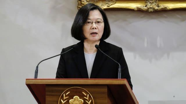 台湾强调两岸须通过平等对话来解决分歧