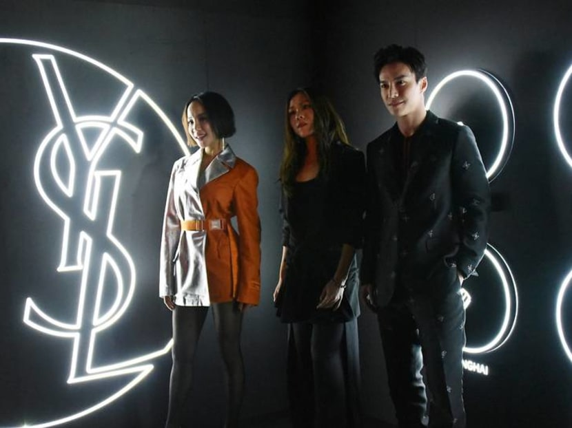 Lawrence Wong, Fiona Xie check into YSL Beauty Hotel - and you can, too