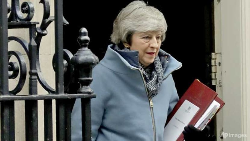 UK's May suffers embarrassing Brexit defeat in parliament