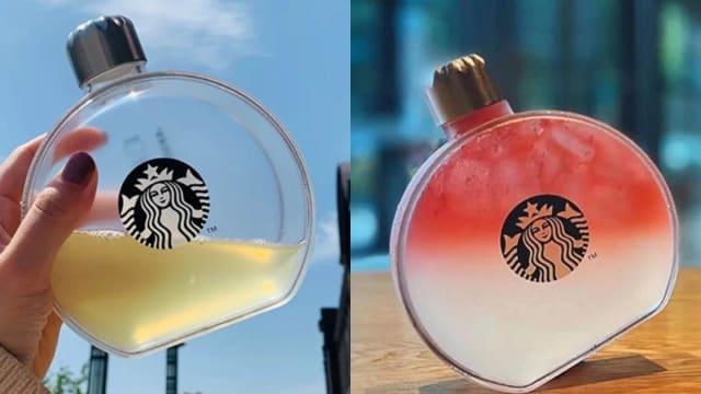 """快找代购!Starbucks绝美""""透明小酒壶""""红遍小红书"""