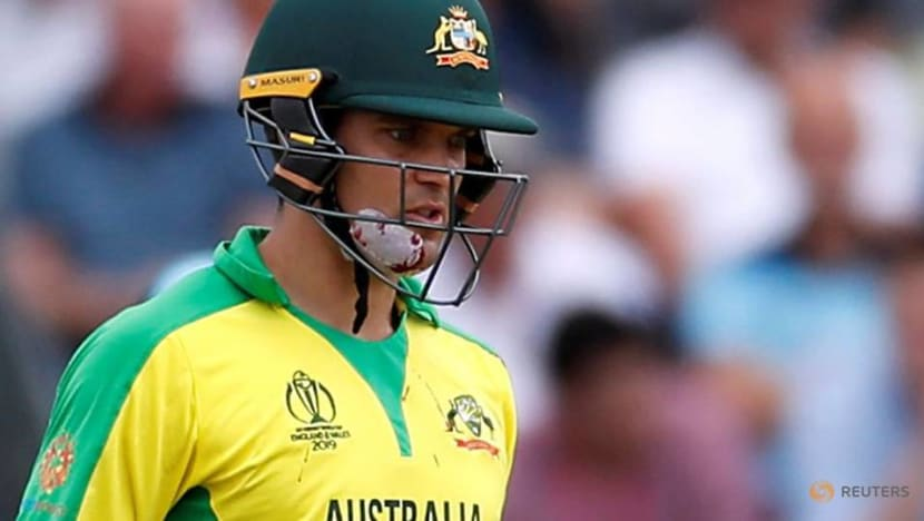 Cricket-Australia's Carey relishing competition for World Cup slot
