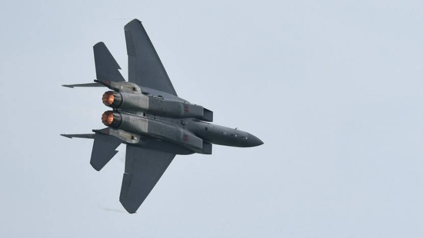 Proposal for Singapore's F-15 jets to train in New Zealand will not proceed: MINDEF
