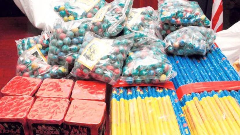 Malaysia authorities seize 20 tonnes of fireworks, firecrackers