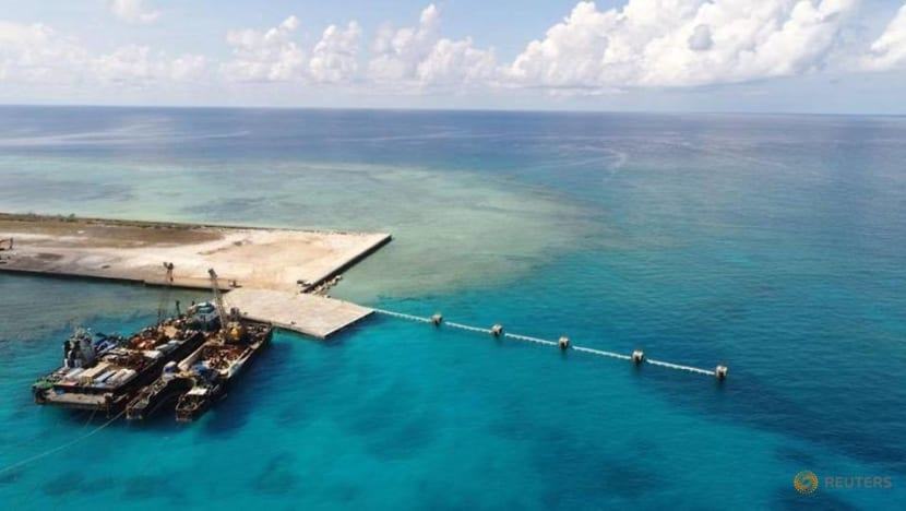 Philippines protests China's 'illegal' South China Sea presence