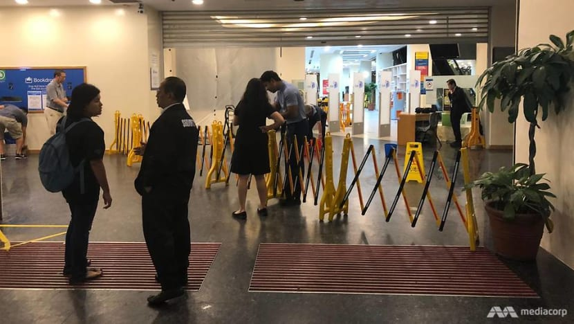 Woodlands Regional Library temporarily closed due to water leakage