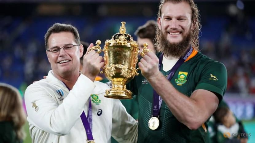 Rugby-Erasmus airs grievances over Lions tour refereeing in hour-long video