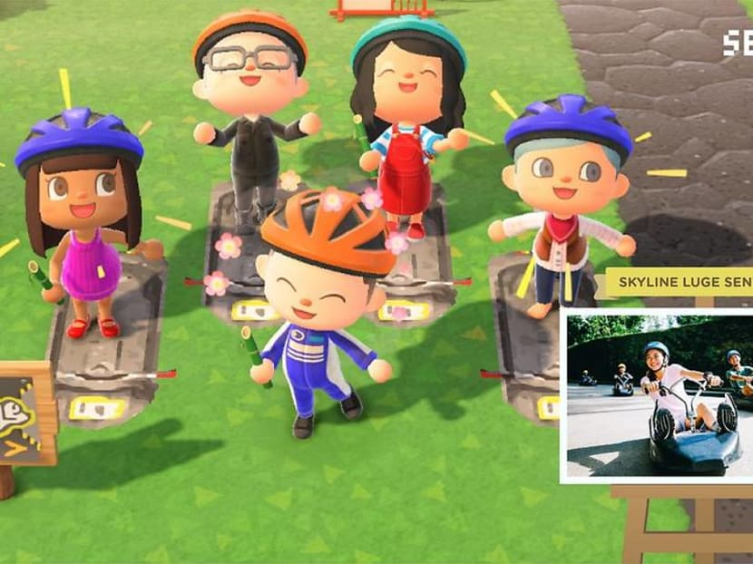 Need a Sentosa island getaway? You can now have a virtual visit on Animal Crossing