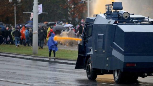 白罗斯反政府示威活动持续 数十人遭逮捕