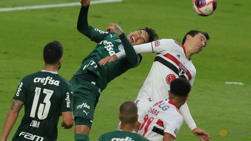Soccer-Crespo leads Sao Paulo to first state championship since 2005