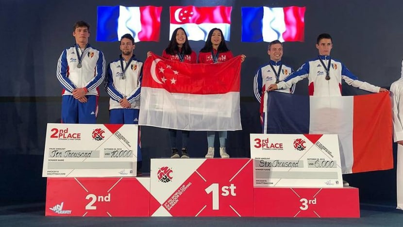 Singapore indoor skydiving team clinches first World Cup gold