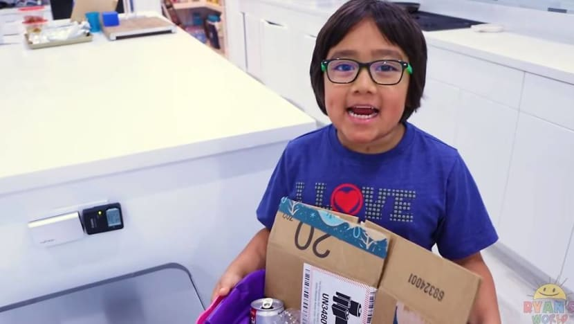 Eight-year-old is highest paid YouTuber, earns US$26 million in year