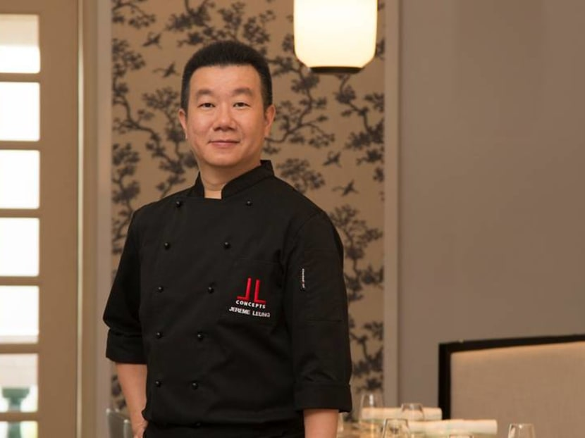 Singaporean chef Jereme Leung: 'There's nothing Chinese' about foam and fusion