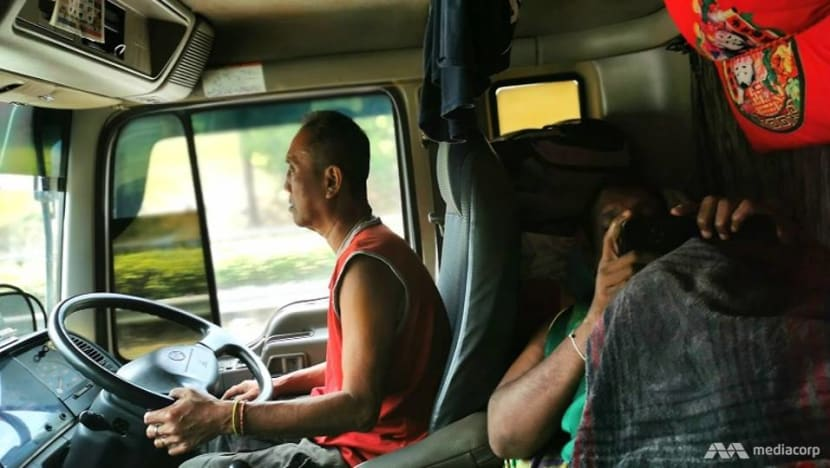 48 hours on the road: Life of a Malaysian trucker who delivers vegetables to Singapore