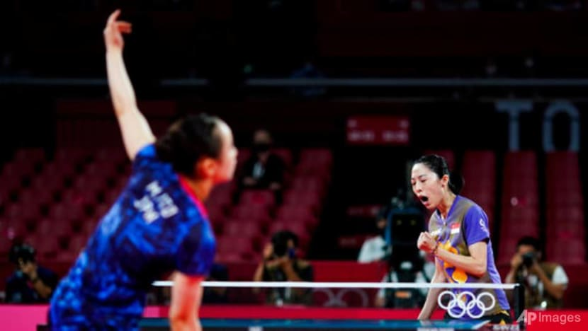 Table tennis: Singapore's Yu Mengyu misses out on Olympics bronze,losing toJapan's Mima Ito