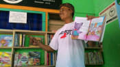 Indonesian tofu seller who dropped out of school makes it his life mission to spread love for reading