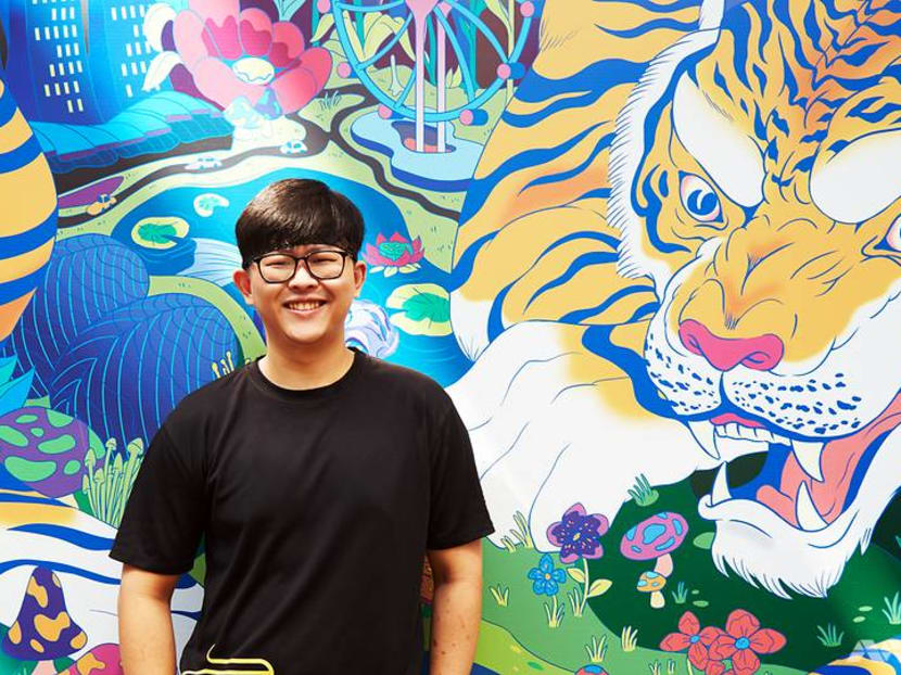 Everyone loves his prawn noodles, but this street food chef waits for dad's praise