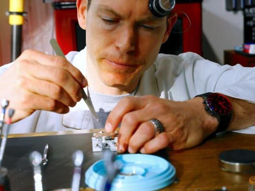 Former Swiss soccer captain retrains as a watchmaker