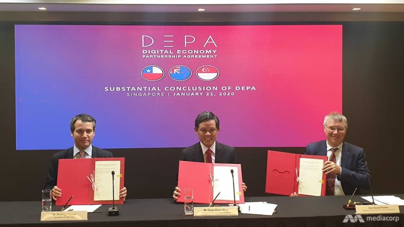 'Substantial conclusion' reached between Singapore, New Zealand and Chile on digital economy partnership