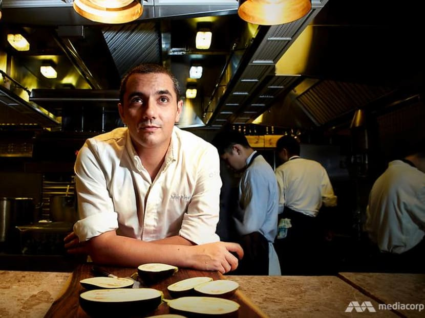 The chef behind Singapore's No 1 restaurant is now serving food on a plane
