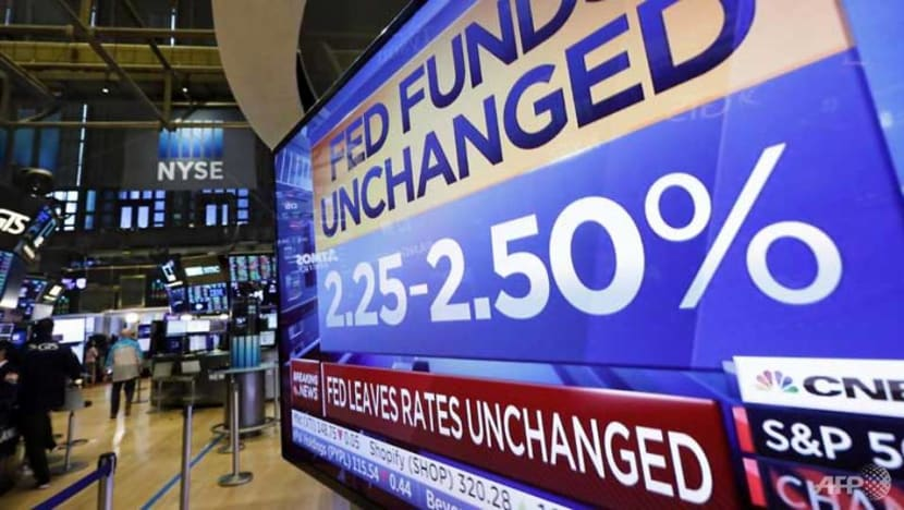 US stocks gain as Fed signals it could soon cut rates