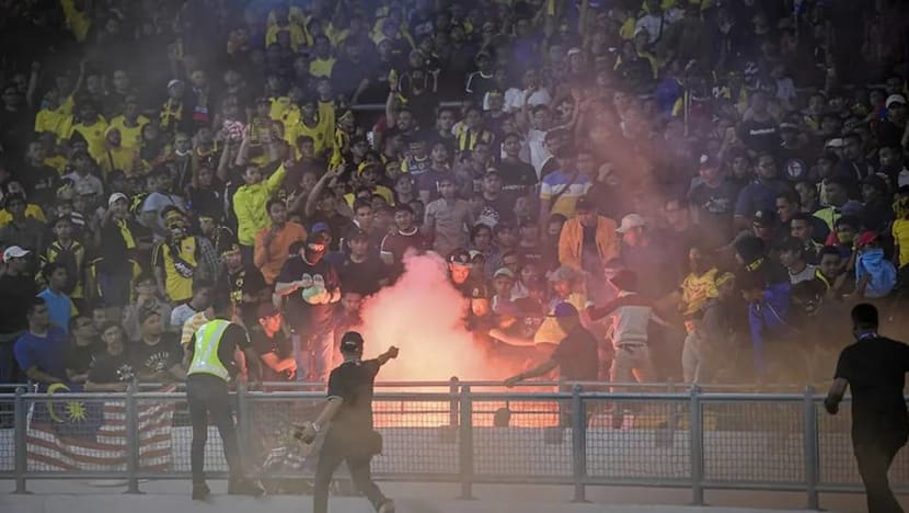 Football: Fans arrested after trouble at Malaysia, Indonesia World Cup qualifier