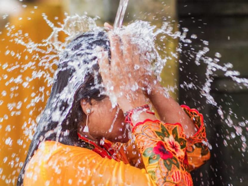 Ritual delight: Taking a shower to cleanse your soul in Bali