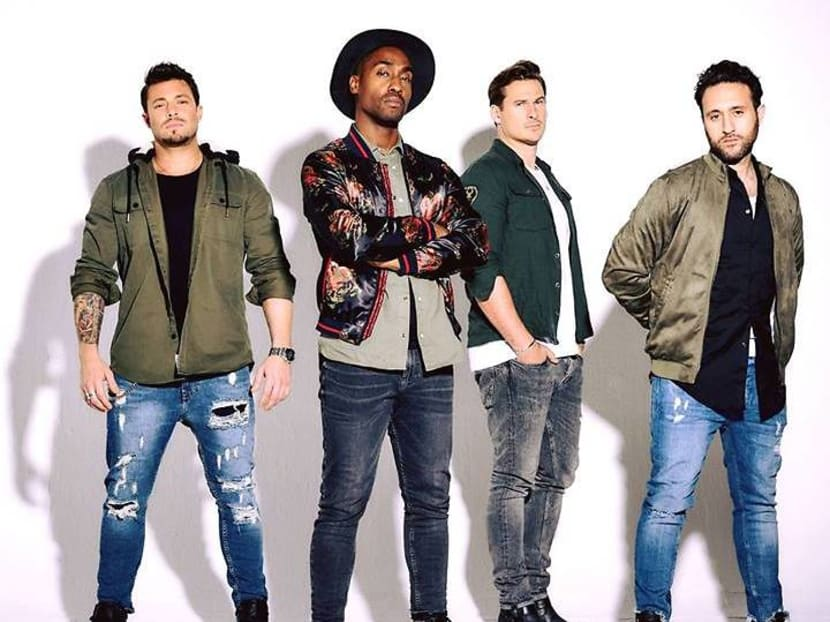 British boyband Blue to perform in Singapore