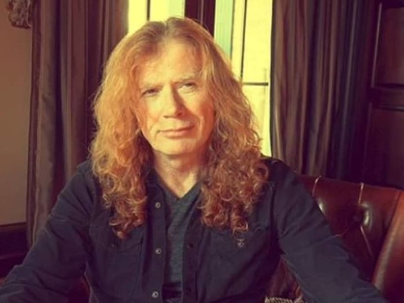 Megadeth's Dave Mustaine reveals he has throat cancer and is undergoing treatment