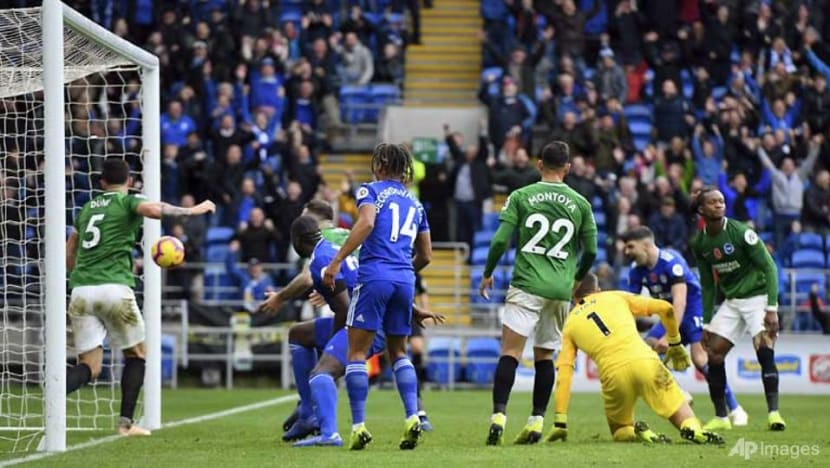 Football: Bamba strikes late to lift Cardiff out of relegation zone