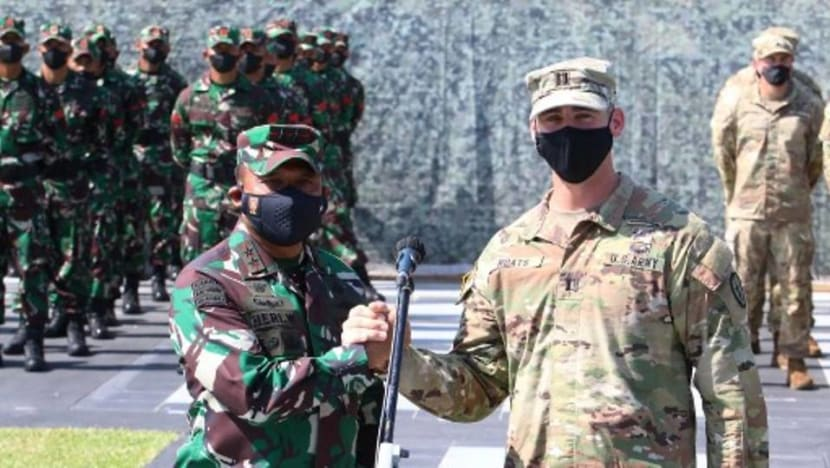 Indonesia, US hold largest joint military drills