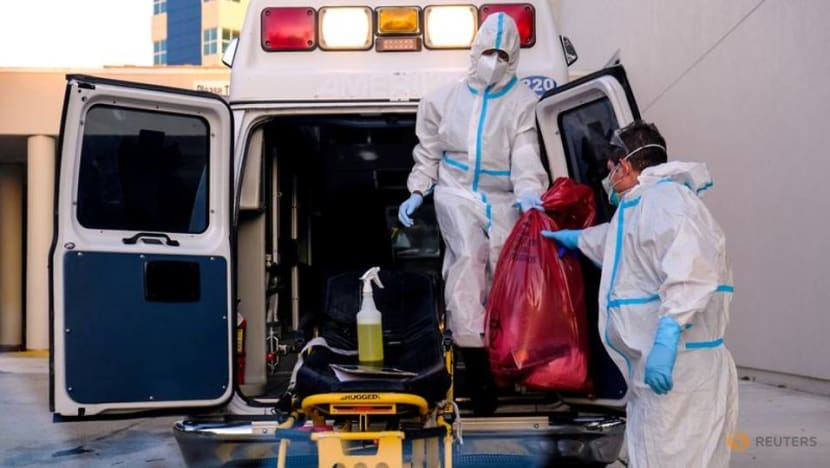 US COVID-19 hospitalisations hit two-month peak