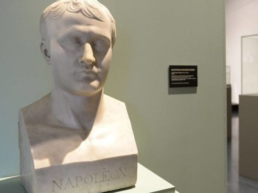 Napoleon's shirt worn in exile and English letter go on display