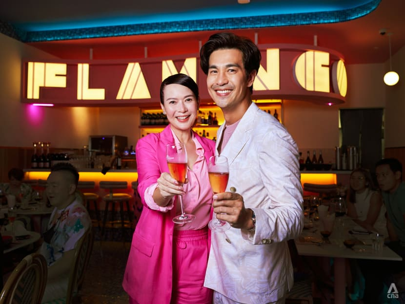 Who's more fun when they're tipsy – Pierre Png or Andrea De Cruz?