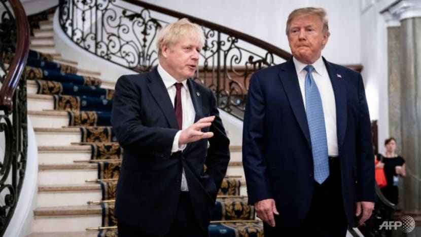 UK's Johnson, Trump look forward to ambitious trade agreement: Downing Street