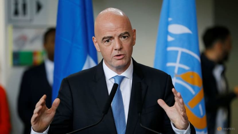 Football: FIFA's Infantino asks Premier League and La Liga to release players for World Cup qualifiers