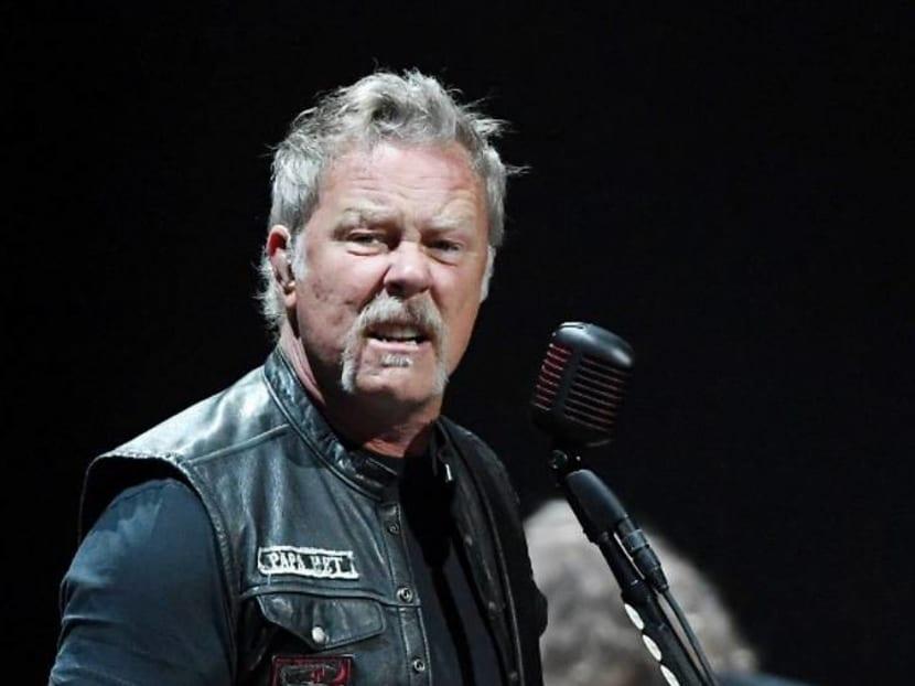 Metallica postpones upcoming tour so singer James Hetfield can go to rehab