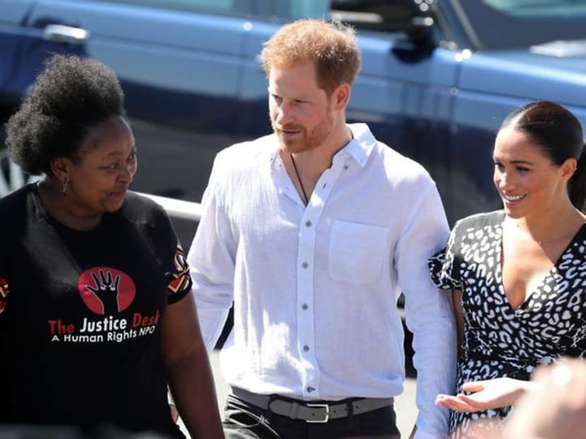 Prince Harry and wife Meghan begin South Africa tour in 'murder capital'